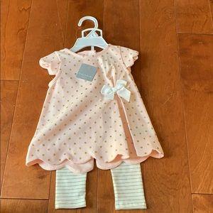 2T Tahari 2Pc Toddler Poncho Cape Legging Pant Set